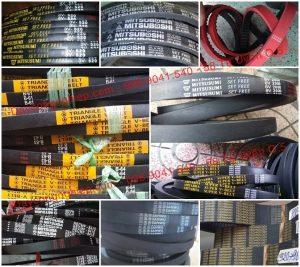 Dây curoa giá rẻ chính hãng chất lượng. 20.000 tấm ảnh đầy đủ nhất về tất cả các loại dây curoa, dây đai hiện có trên thị trường Việt Nam từ mọi thương hiệu dây curoa uy tín chất lượng gồm dây A, B, C, D, M dây răng RECMF, RPF, đến dây tăng tốc 1422V, 1922V, 2322V, PK, PJ, PH, răng 8M, 3M, 5M, XL, L, H, XH, D8M, D5M, .... với các thương hiệu như Mitsuboshi, Bando, Lyndon, Tri Angle, Mitsuba, Robota, Mitsusumi, Sundt, ...
