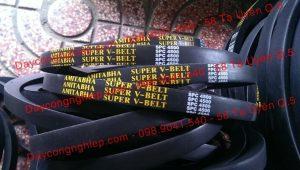 Dây curoa hình thang 3V, 5V, 8V, SPA, SPB, SPC. Dây curoa hình thang răng 3VX, 5VX, XPZ, XPA, XPB các loại