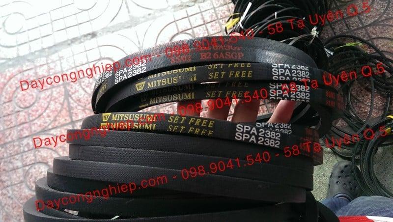 Phân phối dây curoa giá sỉ. Dây 3V, 5V, 8V, SPA, SPB, SPC, XPA, SPZ, XPZ, 3VX, 5VX