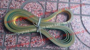 Dây đại dẹp, dây dẹp xanh vàng, dây dẹp xanh đen, 1 li, 1ly, 2li, 2ly, 3ly, 1,5mm, 2,5mm dây đai dẹp