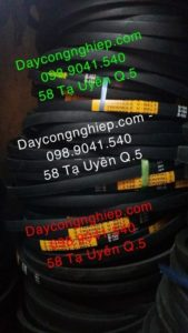 Dây curoa trơn bản M, bản A, bản B, bản C, bản D hình thang chuyên cho các loại máy móc dân dụng, máy cắt, máy may,...4