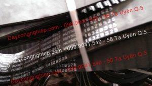 Dây curoa rãnh dọc 4PK, 6PK, 7PK, 8PK, 9PK, 10PK. 12PK, 16PK. Dây curoa răng điều tốc 1422V 1922V 2322V dây mương