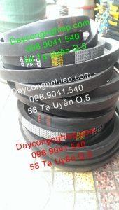 Dây curoa trơn bản D như D300, D305, D330, và E330, E345 chuyên dụng cho máy cắt đá, máy khoan ngành công nghiệp khai thác