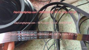 Dây curoa mương dọc, dây curoa máy phát điện tại DayCongNghiep.com